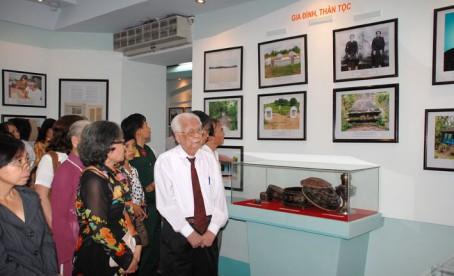 Nâng cao chất lượng các trưng bày chuyên đề của Bảo tàng Tôn Đức Thắng
